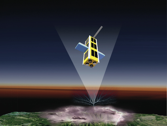 The 'Firefly' CubeSat satellite will investigate Terrestrial Gamma Ray Flashes (TGFs) when it launches in 2010.