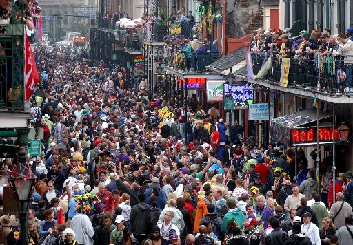 Mardi Gras in 'nawlins